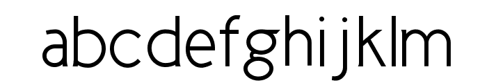 Cicle Semi Font LOWERCASE