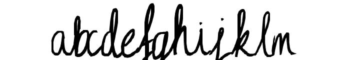 Ciel Phantomhive loves you! Font LOWERCASE