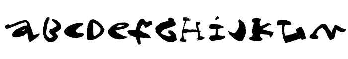Cigar Font UPPERCASE