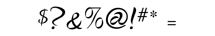 Cigno Font OTHER CHARS