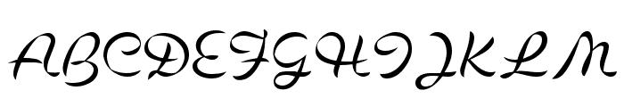 Cigno Font UPPERCASE