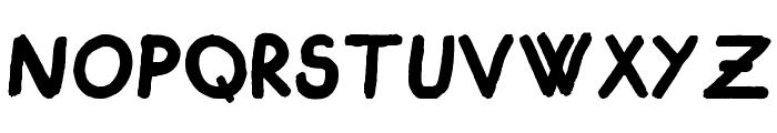 Cigogneau Font LOWERCASE