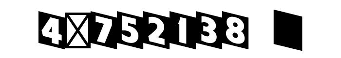 Cinerama-Regular Font OTHER CHARS