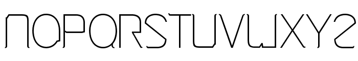 Cinga Light Font LOWERCASE