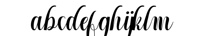 Cintella free Font LOWERCASE