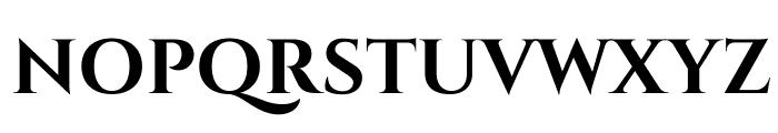 Cinzel-Bold Font UPPERCASE