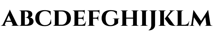 Cinzel-Bold Font LOWERCASE