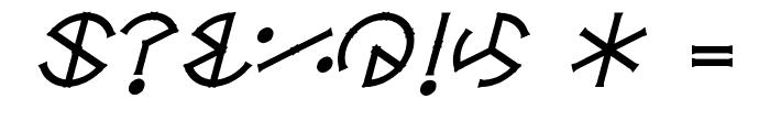 Circle-Six Font OTHER CHARS