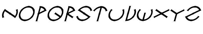 Circle-Six Font UPPERCASE
