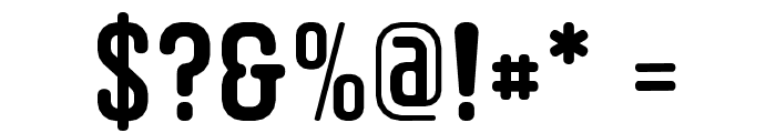 Circle20 Font OTHER CHARS