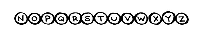 CircleCaps Font UPPERCASE