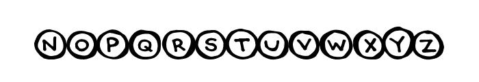 CircleCaps Font LOWERCASE