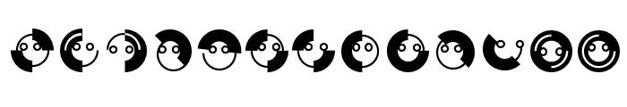 CircleFaces Font UPPERCASE