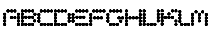 CirclePixels Font UPPERCASE