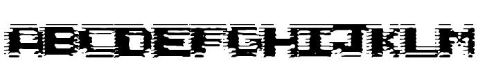 Circuit Scraping Font UPPERCASE