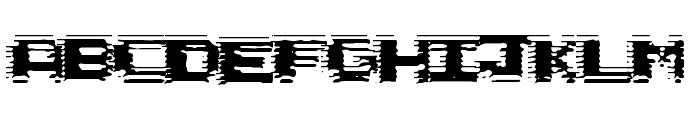Circuit Scraping Font LOWERCASE