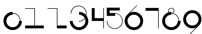 Circularia Font OTHER CHARS