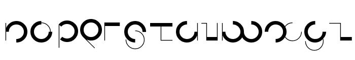 Circularia Font LOWERCASE