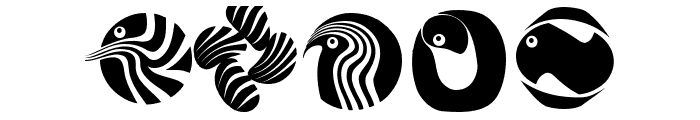 Circularium Font OTHER CHARS