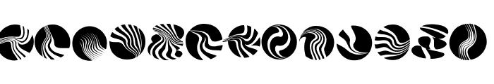 Circularium Font UPPERCASE