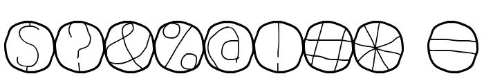 Circulum Font OTHER CHARS