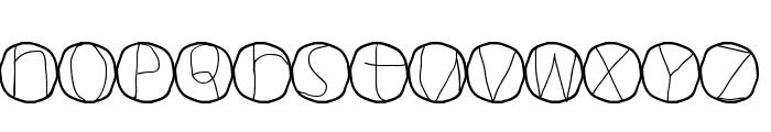 Circulum Font LOWERCASE