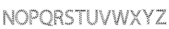 Circus Circus Font UPPERCASE