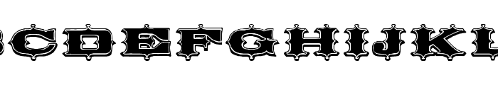 Circus Ornate Font UPPERCASE