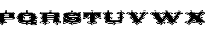 Circus Ornate Font LOWERCASE