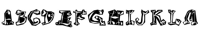 Circus Three Font UPPERCASE
