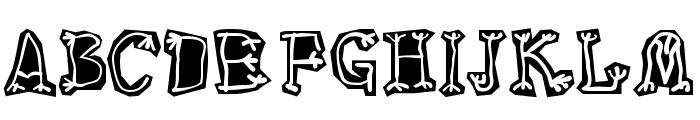 Circus Three Font LOWERCASE
