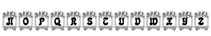 Circus train Font LOWERCASE