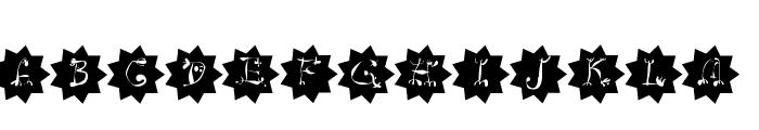CircusStars Font UPPERCASE