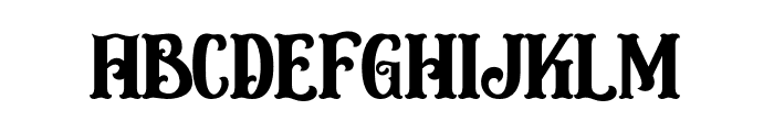 Circusia Regular Font LOWERCASE