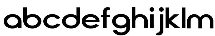 Cirqua Font LOWERCASE