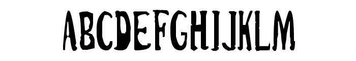 Cirque Du Freak Font UPPERCASE