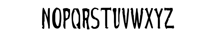 Cirque Du Freak Font LOWERCASE
