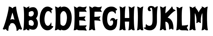 Cirquesa Font UPPERCASE