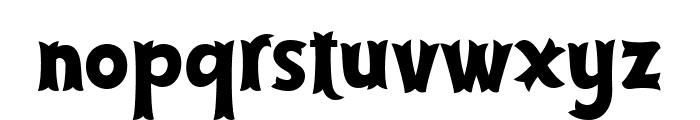 Cirquesa Font LOWERCASE