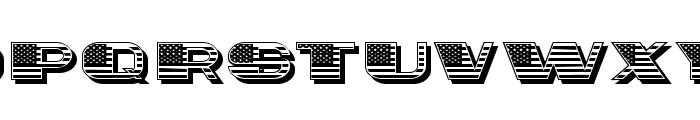 Citizen Regular Font UPPERCASE