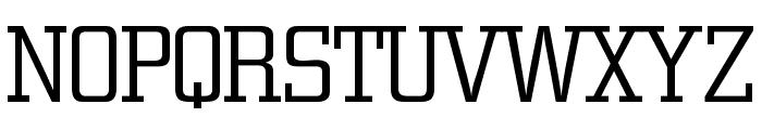 CitonLightDB Normal Font UPPERCASE