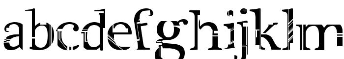 City Life Font LOWERCASE