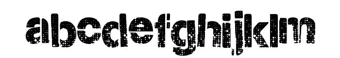 CityStencil Font LOWERCASE
