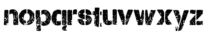 CityStencil Font LOWERCASE