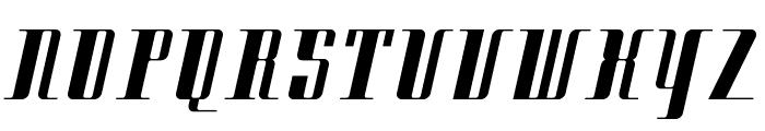 Citybold Font UPPERCASE