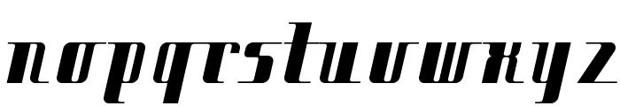 Citybold Font LOWERCASE