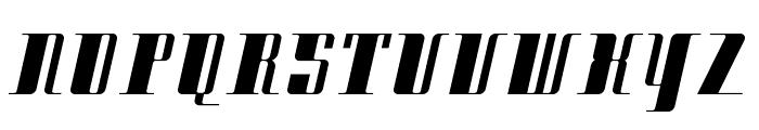 Cityexbold Font UPPERCASE