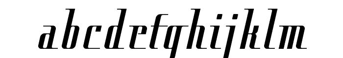 Cityregular Font LOWERCASE