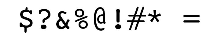 Ciula Font OTHER CHARS