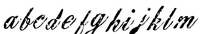 Civilian Font LOWERCASE